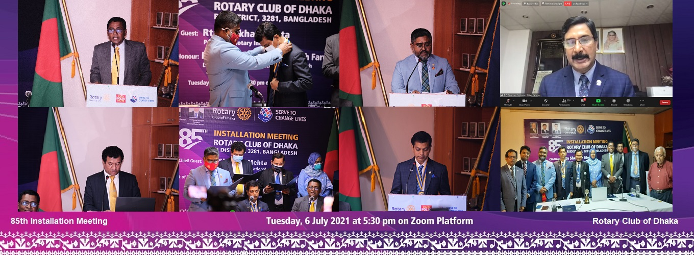 Some moments of 85th Installation
